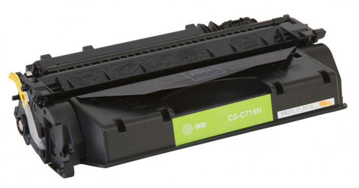 Cactus CS-C719H, Black тонер-картридж для Canon i-Sensys MF5840/ MF5880CS-C719HКартридж Cactus CS-C719H для лазерных принтеров Canon.Расходные материалы Cactus для лазерной печати максимизируют характеристики принтера. Обеспечивают повышенную чёткость чёрного текста и плавность переходов оттенков серого цвета и полутонов, позволяют отображать мельчайшие детали изображения. Обеспечивают надежное качество печати.