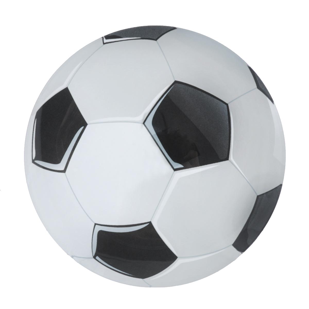 Тарелка Zibo Shelley Футбольный мяч, диаметр 20 смZSFB0008Тарелка Zibo Shelley Футбольный мяч изготовлена из высококачественного стекла. Предназначена для красивой подачи различных блюд. Изделие выполнено в форме мяча. Такая тарелка украсит сервировку стола и подчеркнет прекрасный вкус хозяйки.Можно мыть в посудомоечной машине. Диаметр: 20 см.Высота: 1 см.