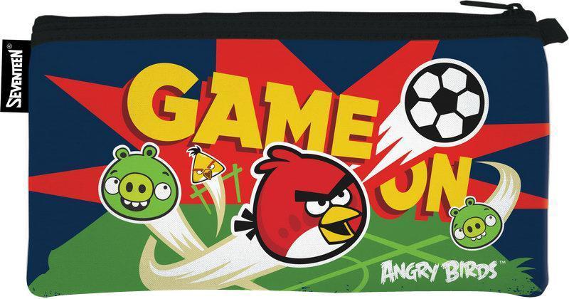 Пенал неопреновый на молнии. Angry BirdsABCB-UT1-049NШкольный пенал для канцелярских принадлежностей вместит в себя все самое необходимое для учебы. Пенал очень яркий и красочный. Изображения любимых героев мультфильмов поднимут настроение ученику, что тоже немаловажно.Пенал имеет надежный замок-молнию.