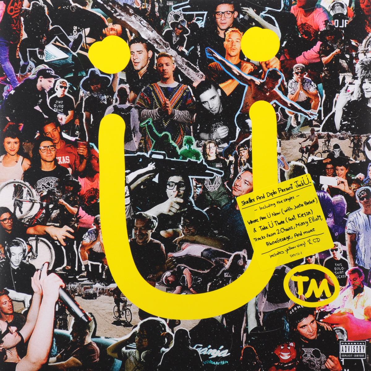 Skrillex,Diplo  & .  &  Present Jack U (LP + CD)