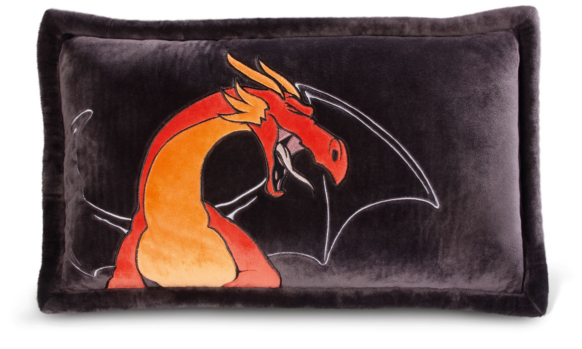 Nici Подушка Красный дракон 63 х 40 см37501Мягкая подушка Nici Красный дракон не оставит равнодушным вашего ребенка.Мягкая и приятная на ощупь подушка прямоугольной формы выполнена из полиэстера с мягкой набивкой и оформлена вышитой аппликацией в виде красного дракона. Подушка удивительно приятна на ощупь. Необычайно мягкая, она принесет радость и подарит своему обладателю мгновения нежных объятий и приятных воспоминаний.Такая подушка станет отличным аксессуаром для детской комнаты.