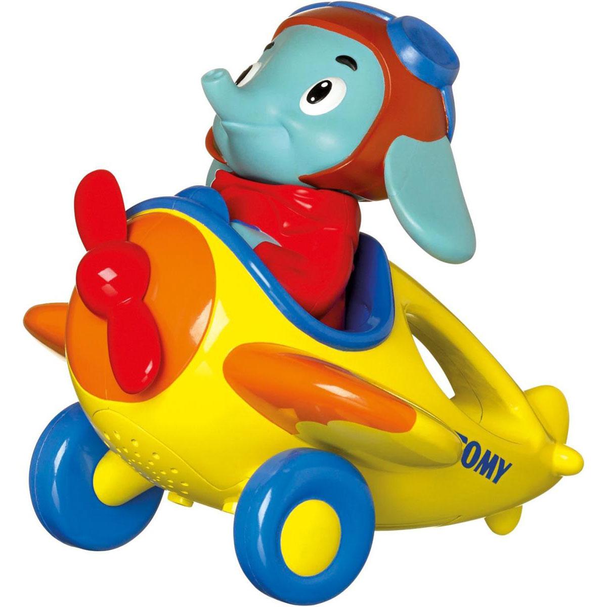 Tomy Развивающая игрушка Веселые виражи летчика Люка игрушки интерактивные tomy интерактивная игрушка веселые виражи летчика люка