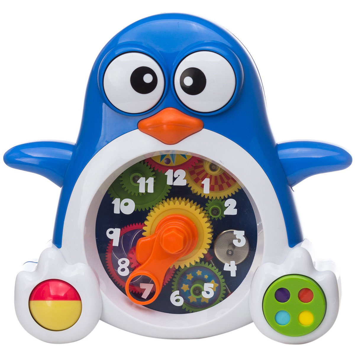 Keenway Развивающая игрушка Пингвиненок-часы
