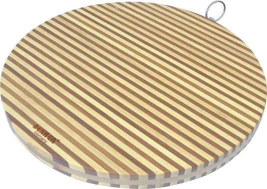 Доска разделочная Bekker, бамбуковая, диаметр 30 см. BK-9709BK-9709Круглая разделочная доска Bekker изготовлена из высококачественной древесины бамбука,обладающей антибактериальными свойствами. Бамбук - инновационный материал, идеальноподходящий для разделочных досок. Доски из бамбука обладают высокой плотностью структурыдревесины, а также устойчивы к механическим воздействиям. Вдоль края доска оснащенажелобками для стока жидкости.Функциональная и простая в использовании, разделочная доска Bekker прекрасно впишется винтерьер любой кухни и прослужит вам долгие годы. Диаметр доски: 30 см. Толщина: 2 см.