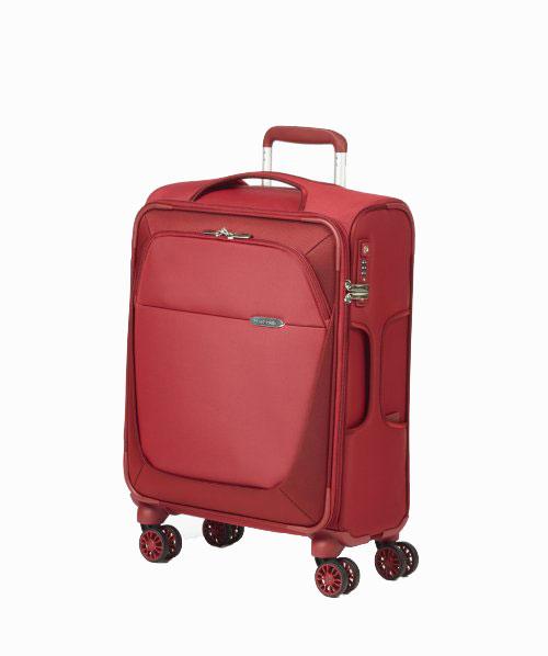 Чемодан Samsonite B-Lite 3, цвет: красный, 35,5 л39D*00005Чемодан Samsonite B-Lite 3 прекрасно подойдет для путешествий. Материал внешней отделки - плотный текстиль (нейлон 400Den и полиэстер 450Den), внутренняя отделка - полиэстеровая ткань бежевого цвета. Чемодан очень вместителен, он содержит продуманную внутреннюю и внешнюю организацию. Имеется одно большое отделение, которое закрывается по периметру на застежку-молнию с двумя бегунками. Внутри содержится большой отдел для одежды с перекрещивающимися багажными ремнями, соединяющимися при помощи пластикового карабина. На крышке с внутренней стороны расположен сетчатый карман на молнии для различных аксессуаров. Снаружи имеется большой карман на молнии. Для удобной перевозки чемодан оснащен четырьмя маневренными колесами, которые обеспечивают легкость перемещения в любом направлении. Телескопическая ручка выдвигается нажатием на кнопку и фиксируется в 4 положениях, поэтому может быть отрегулирована под рост пользователя. Сбоку и сверху предусмотрены ручки для поднятия чемодана. Чемодан оснащен пластиковой биркой для карточки с личными данными и кодовым замком TSA, который исключает возможность взлома. Отверстие в кодовом замке предназначено для работников таможни (открытие багажа для досмотра без присутствия хозяина). Ключ находится только у таможни. Чемодан Samsonite B-Lite 3 идеально подходит для поездок и путешествий. Он вместит все необходимые вещи и станет незаменимым аксессуаром во время поездок. Размер чемодана (ДхШхВ): 35 см x 25 см х 55 см. Высота чемодана (с учетом колес и выдвинутой ручки): 105 см. Максимальная высота выдвижной ручки: 55 см. Диаметр колеса: 5 см.
