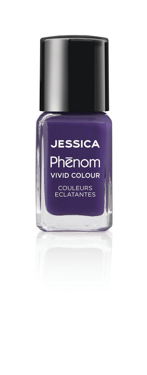 Jessica Phenom Лак для ногтей Vivid Colour Grape Gatsby № 12, 15 млPHEN-012Система покрытия ногтей Phenom обеспечивает быстрое высыхание, обладает стойкостью до 10 дней и имеет блеск гель-лака. Не нуждается в использовании LED/UV ламп. Легко удаляется, как обычный лак для ногтей. Покрытия JESSICA Phenom являются 5-Free и не содержат формальдегид, формальдегидных смол, толуола, дибутилфталат и камфору. Как наносить: Система Phenom – это великолепный маникюр за 1-2-3 шага: ШАГ 1: Базовое покрытие – нанесите в два слоя базовое средство JESSICA, подходящее Вашему типу ногтевой пластины.ШАГ 2: Цвет – нанесите в два слоя любой оттенок Phenom Vivid Colour.ШАГ 3: Закрепление – нанесите в один слой Phenom Finale Shine Topcoat для получения блеска гель-лака.