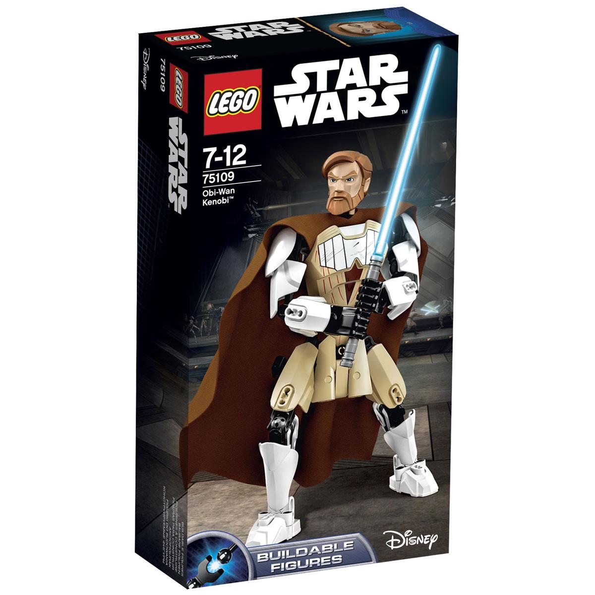 LEGO Star Wars Фигурка-конструктор Оби Ван Кеноби 75109 star wars оби ван кеноби 75109