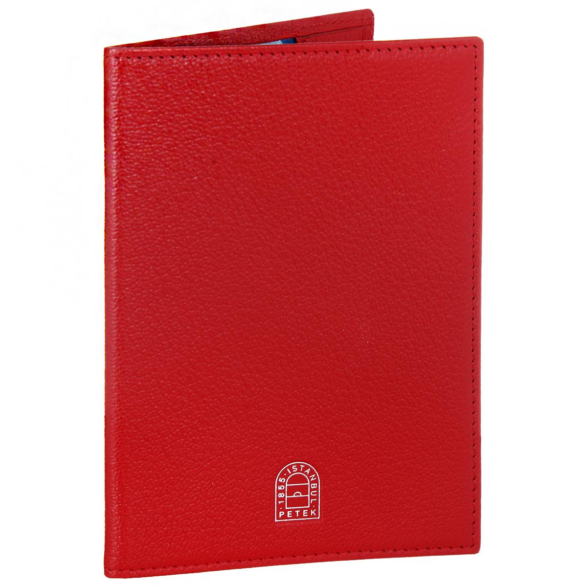 Обложка для паспорта Petek 1855, цвет: красный. S15019.ALS.10 RedНатуральная кожаСтильная обложка для паспорта Petek 1855 выполнена из натуральной кожи контрастных оттенков с зернистой текстурой. Обложка оформлена декоративной строчкой и тиснением с названием бренда. На оборотной стороне имеет карман для посадочного талона.Элегантная обложка Petek 1855 не только поможет сохранить внешний вид ваших документов и защитит их от повреждений, но и станет стильным аксессуаром, идеально подходящим вашему образу.
