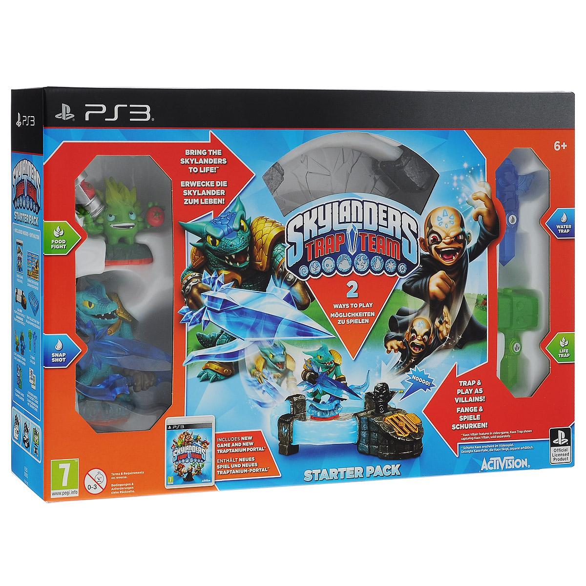 Skylanders Trap Team. Стартовый набор (английская версия) (PS3) Toys For Bob