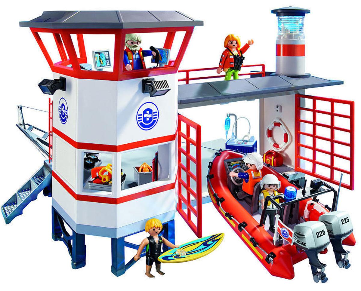 """Фото Playmobil Игровой набор """"Береговая станция с маяком"""". Покупайте с доставкой по России"""