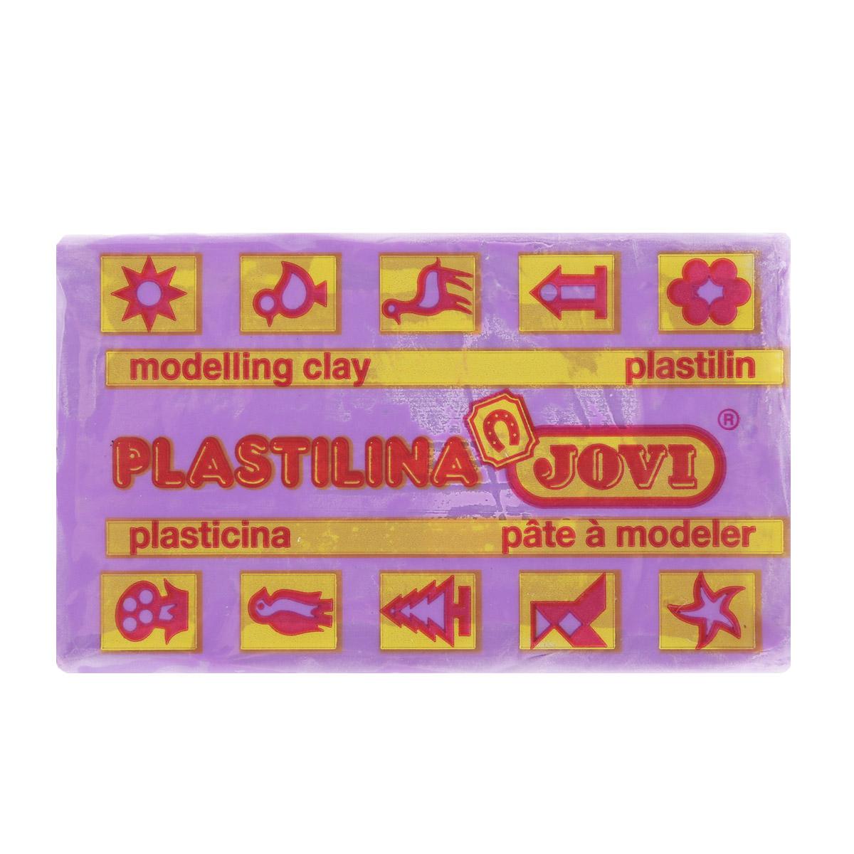 Jovi Пластилин, цвет: фиолетовый, 50 г7014U_фиолетовыйПластилин Jovi - лучший выбор для лепки, он обладает превосходными изобразительными возможностями и поэтому дает простор воображению и самым смелым творческим замыслам. Пластилин, изготовленный на растительной основе, очень мягкий, легко разминается и смешивается, не пачкает руки и не прилипает к рабочей поверхности. Пластилин пригоден для создания аппликаций и поделок, ручной лепки, моделирования на каркасе, пластилиновой живописи - рисовании пластилином по бумаге, картону, дереву или текстилю. Пластические свойства сохраняются в течение 5 лет.