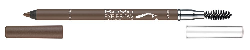 BeYu Карандаш для бровей с щеточкой № 5 коричнево-серый Eyebrow Liner Waterproof , 1г. косметические карандаши beyu карандаш для бровей 6 1 2г