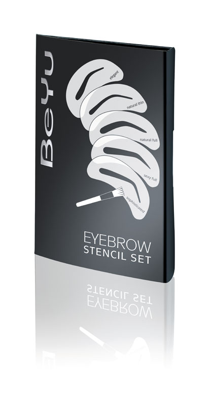 BeYu Набор трафаретов для бровей Eyebrow Stencil Set