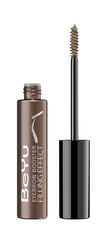 BeYu Гель для бровей с микроволокнами Eyebrow Booster Filling Effect № 6 светло-коричневый , 8мл3649.6Оттеночный гель для бровей с микро волокнамиПридает бровям визуально большую густоту, усиливает натуральный цвет бровей.Легкая текстура, с включением высокотехнологичных волокон , заполняет пустые участки с одного нанесения и создает образ с заполненными бровями.Стойкая и легкая текстура сливается с естественным оттенком бровей.Идеально для подчеркивания естественной красоты бровей и прекрасно дополняет естественный макияж.