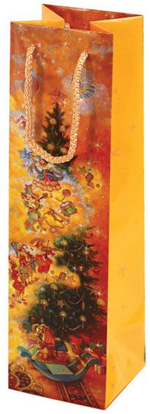 Пакет под бутылку Правила Успеха Сказка о Щелкунчике, 12 х 40 х 12 см4610009210322Подарочный пакет под бутылку Правила Успеха выполнен из бумаги. Его хочется держать в руках и рассматривать детали картины. Подарки в этой упаковке будут смотреться роскошно и благородно.Глянцевое покрытие придаёт дизайну поистине новогодний вид.Размер: 12 х 40 х 12 см.