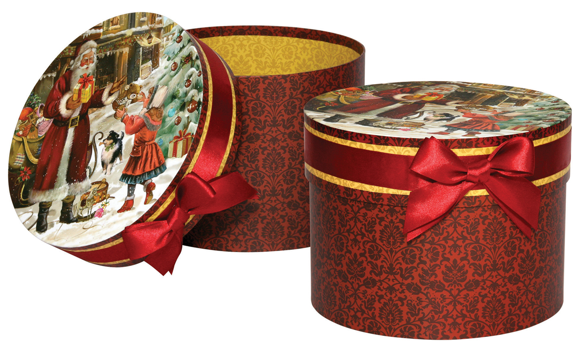Коробка шляпная Правила Успеха На радость детям, 20 х 15 см4610009210759Круглая подарочная коробка Правила Успеха изготовлена из плотного картона, украшена атласной лентой. Изделие прекрасно подойдет для конфет и различных небольших сувениров.Размер: 20 х 15 см.