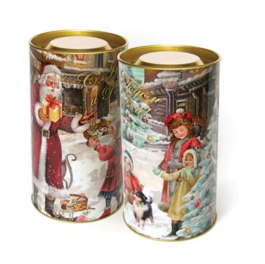 Тубус новогодний На радость детям 7*15 см