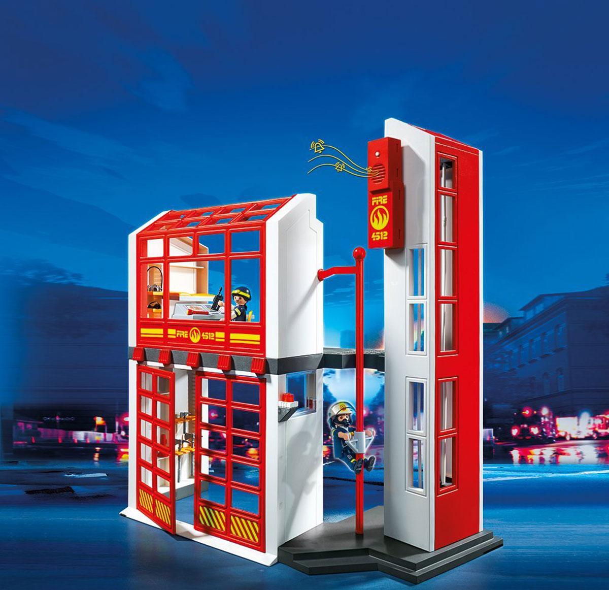 """Playmobil Игровой набор """"Пожарная станция с сигнализацией"""""""