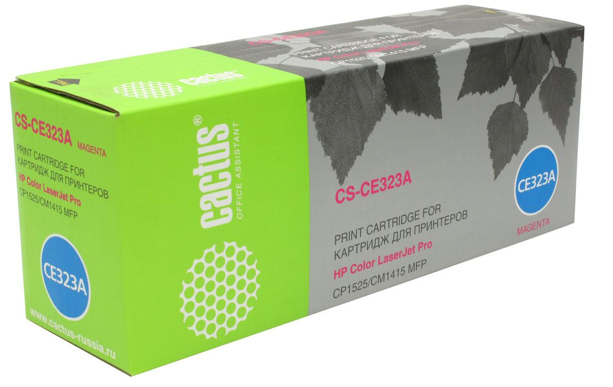 Cactus CS-CE323A, Magenta тонер-картридж для HP LaserJet CP1525 картридж для принтера cactus cs cli426gy grey