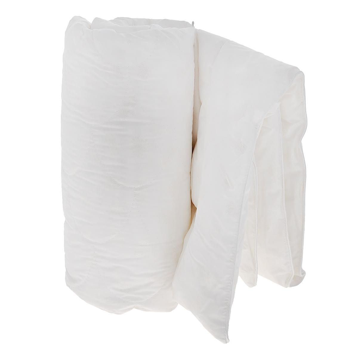 Одеяло детское Облачко, наполнитель: искусственный лебяжий пух, 110 см х 140 см156969Одеяло Облачко подарит комфортный сон вашему малышу. Чехол изготовлен из 100% хлопка, наполнитель - искусственный лебяжий пух. Мягкий и необычайно легкий наполнитель обеспечит оптимальную терморегуляцию пододеяльного пространства, а плотная и легкая дышащая ткань создаст условия, исключающие парниковый эффект и перегрев ребенка во время сна. Искусственный пух не вызывает аллергию и раздражение кожи малыша. Сложная фигурная стежка одеяла обеспечивает возможность его стирки столько раз, сколько это будет необходимо.Материал чехла: 100% хлопок.Материал наполнителя: искусственный лебяжий пух.
