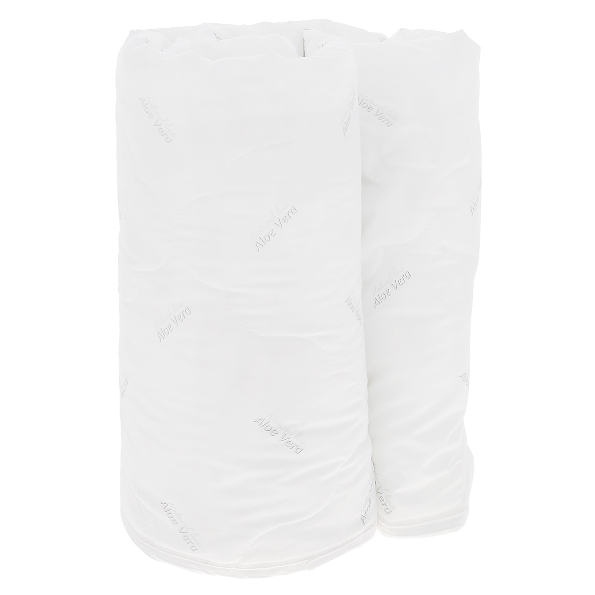 Одеяло Verossa AloeVera, наполнитель: полиэстеровое волокно, 140 см х 205 см158082Легкое одеяло Verossa AloeVera подарит комфортный сон вам и вашей семье.Чехол изготовлен из смесовой ткани с обработкой Aloe Vera, наполнитель - 100% полиэстеровое волокно. Aloe Vera - специальный биологический компонент, стимулирующий защитные силы организма. Алоэ вера обладает общеукрепляющим действием, содержит полезные для красоты и здоровья витамины и минералы. К тому же это прекрасный антиоксидант, способствует обновлению клеток, увлажняет и питает кожу во время сна. Компонент алое вера не пахнет, устойчив к стиркам и не оказывает вредного влияния на человека. Такое одеяло подойдет тем, кто заботится о красоте даже во время сна.Материал чехла: смесовая ткань с обработкой Aloe Vera. Наполнитель: 100% полиэстеровое волокно. Плотность наполнителя: 150 г/м2.