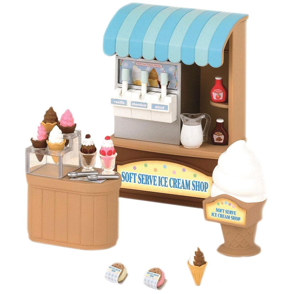 Sylvanian Families Игровой набор Магазин мороженого набор пекарня sylvanian families