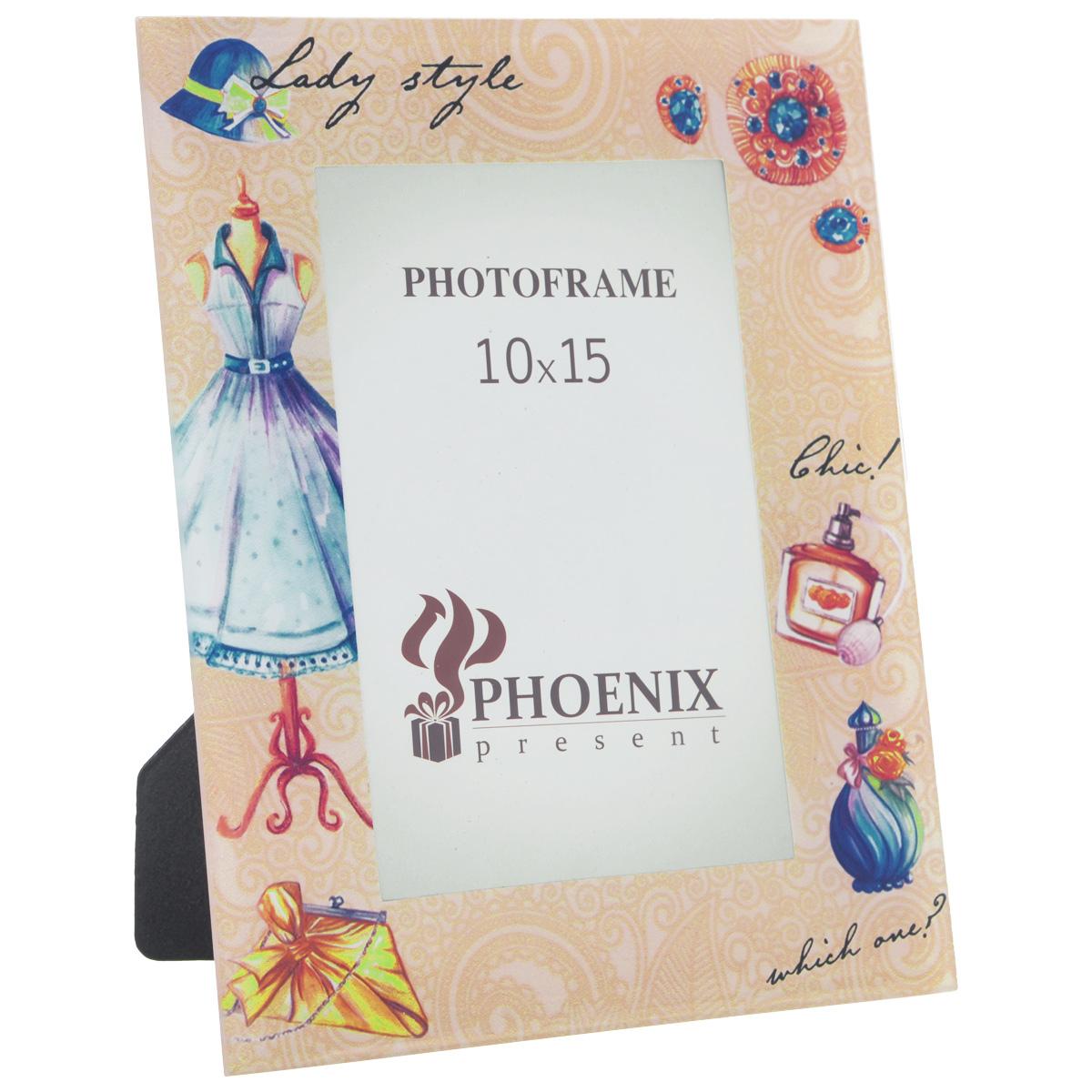 Фоторамка Феникс-презент Леди, 10 см х 15 см феникс презент