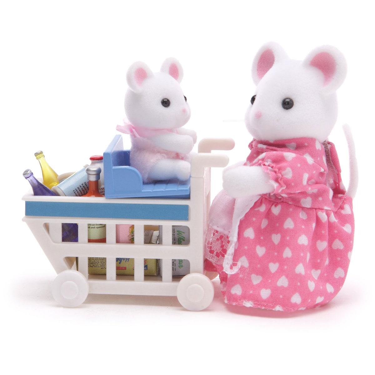 Sylvanian Families Набор фигурок Покупки в бакалее стоимость