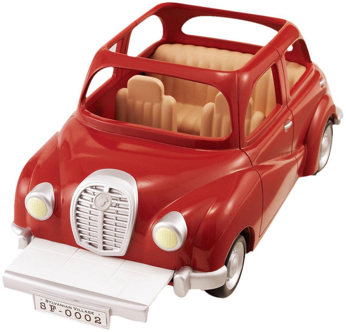 Sylvanian Families Семейный автомобиль цвет красный набор семейный автомобиль красный sylvanian families
