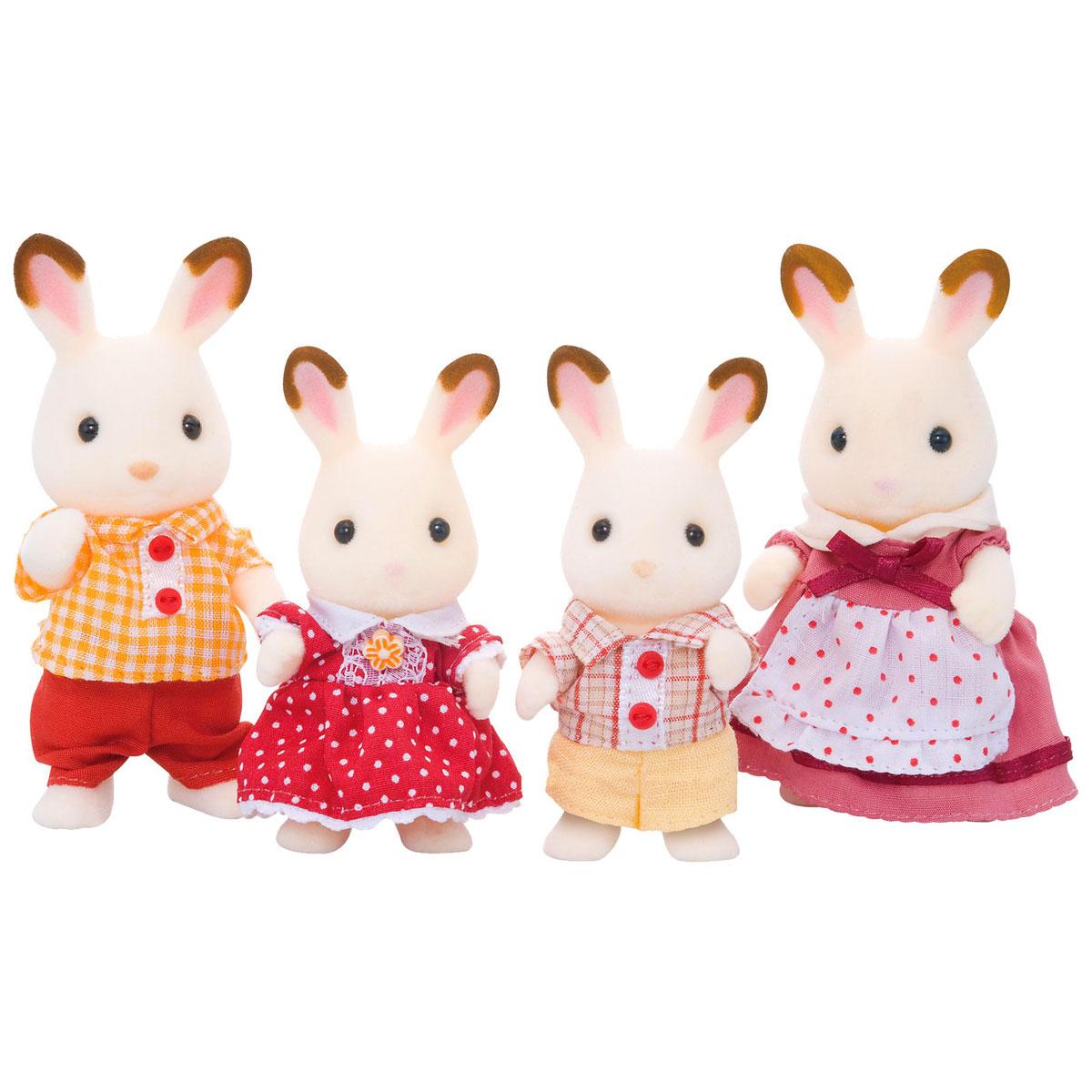 Sylvanian Families Набор фигурок Семья шоколадных кроликов