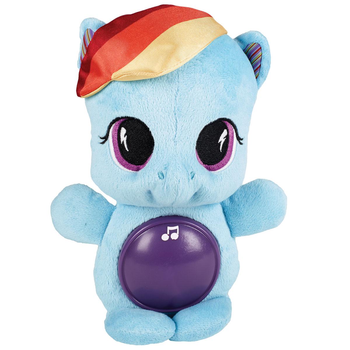 """Playskool Мягкая озвученная игрушка """"My Little Pony: Пони Рейнбоу Дэш"""", 25 см"""