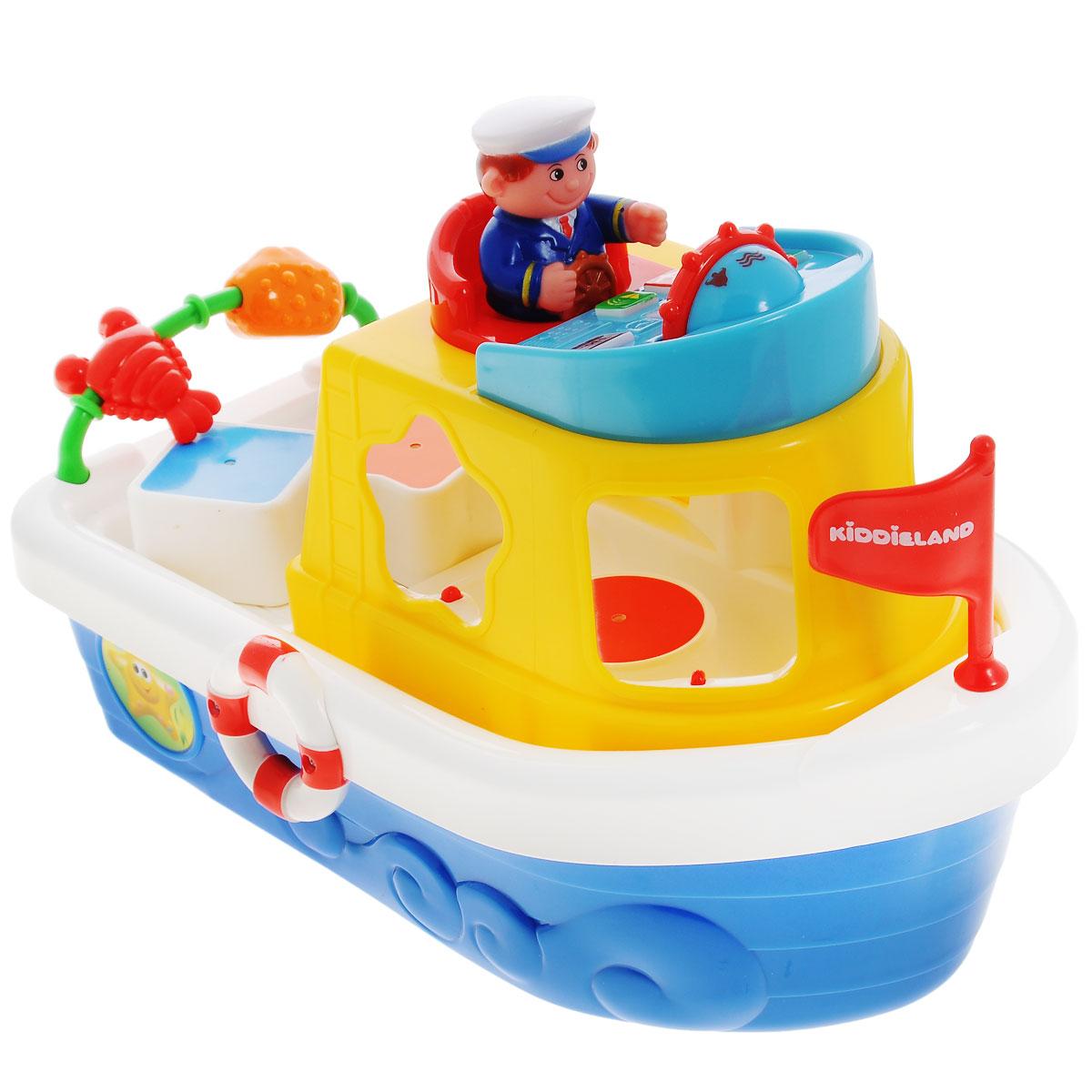 Kiddieland Развивающая игрушка Мой первый корабль-сортер игрушка электронная развивающая мой первый ноутбук