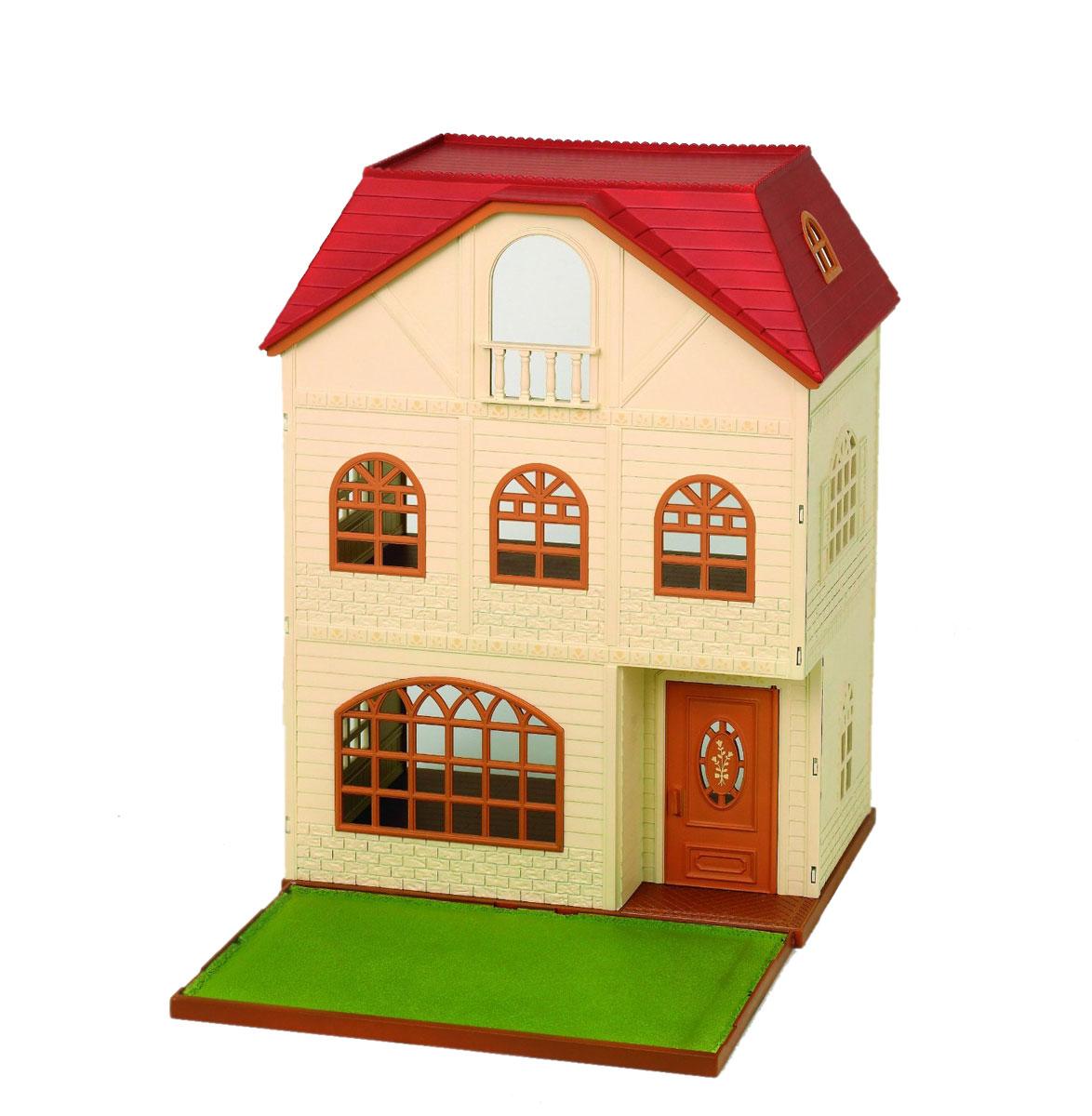 Sylvanian Families Игровой набор Трехэтажный дом дерево дом sylvanian families