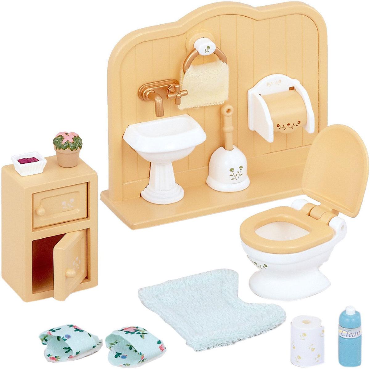 Sylvanian Families Игровой набор Туалетная комната