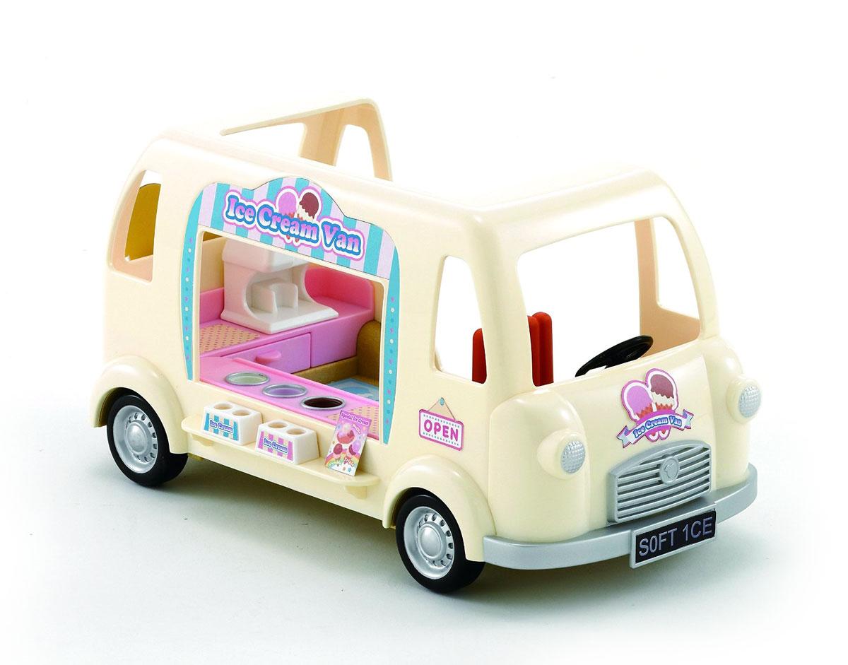 Sylvanian Families Игровой набор Фургон с мороженым набор холодильник с продуктами sylvanian families