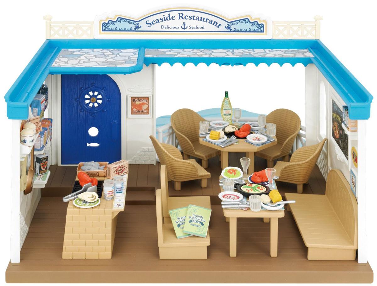 Sylvanian Families Игровой набор Морской ресторан набор холодильник с продуктами sylvanian families