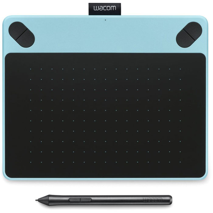 Wacom Intuos Draw Pen S, Blue графический планшет (CTL-490DB-N) - Графические планшеты