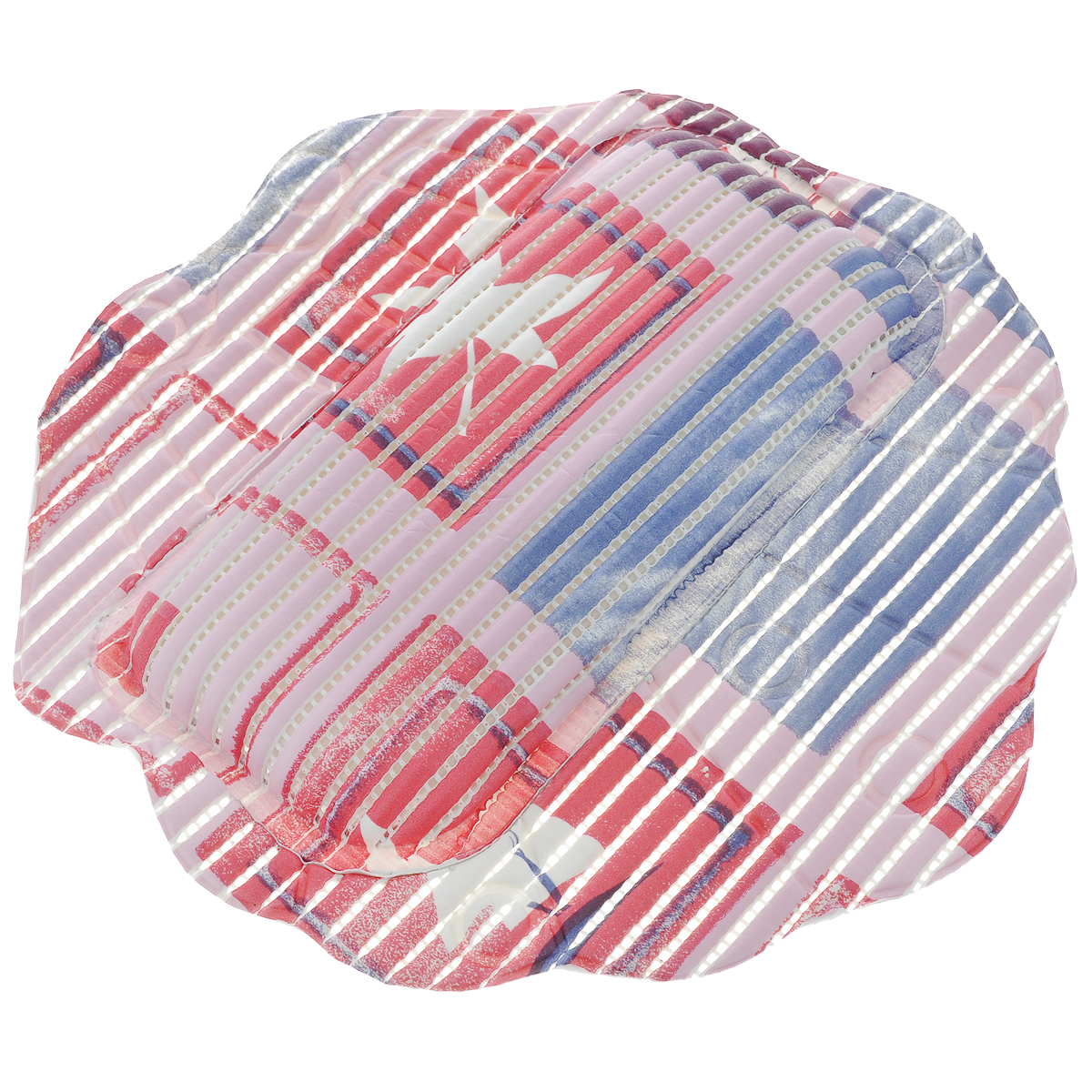 Подушка для ванны Fresh Code Flexy, на присосках, цвет: розовый, фиолетовый, малиновый, 33 см х 33 см55764_розовый, фиолетовый, малиновыйПодушка для ванны Fresh Code Flexy обеспечивает комфорт во время принятия ванны. Крепится на поверхность ванной с помощью присосок. Выполнена из ПВХ.