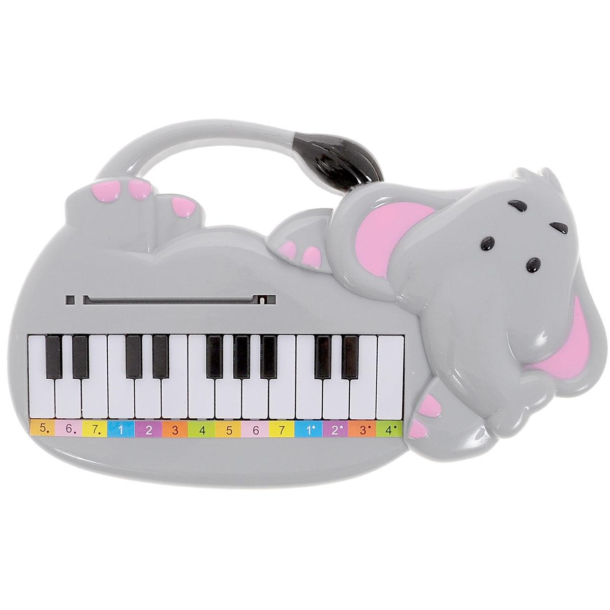 Тилибом Музыкальная игрушка  Пианино-слоник