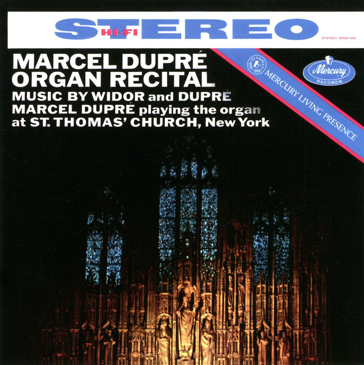 Marcel Dupre. Widor And Dupre. Organ Recital