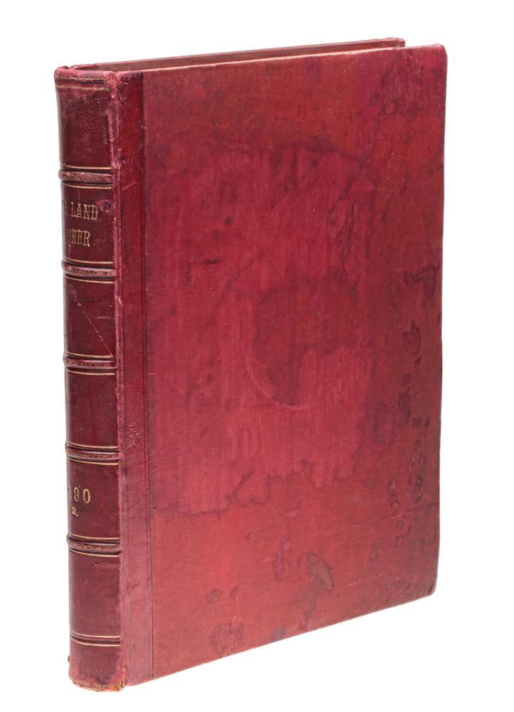 Иллюстрированная газета Uber Land und Meer. Подшивка, том 64: выпуски №№ 27 - 52 за 1890 год mazari ножницы детские meer 12 см