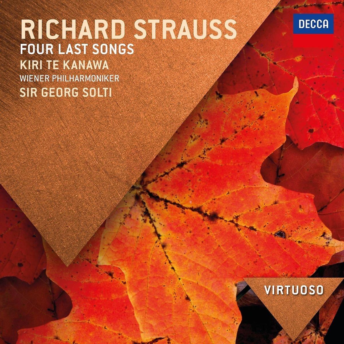 Sir Georg Solti. Richard Strauss. Four Last Songs