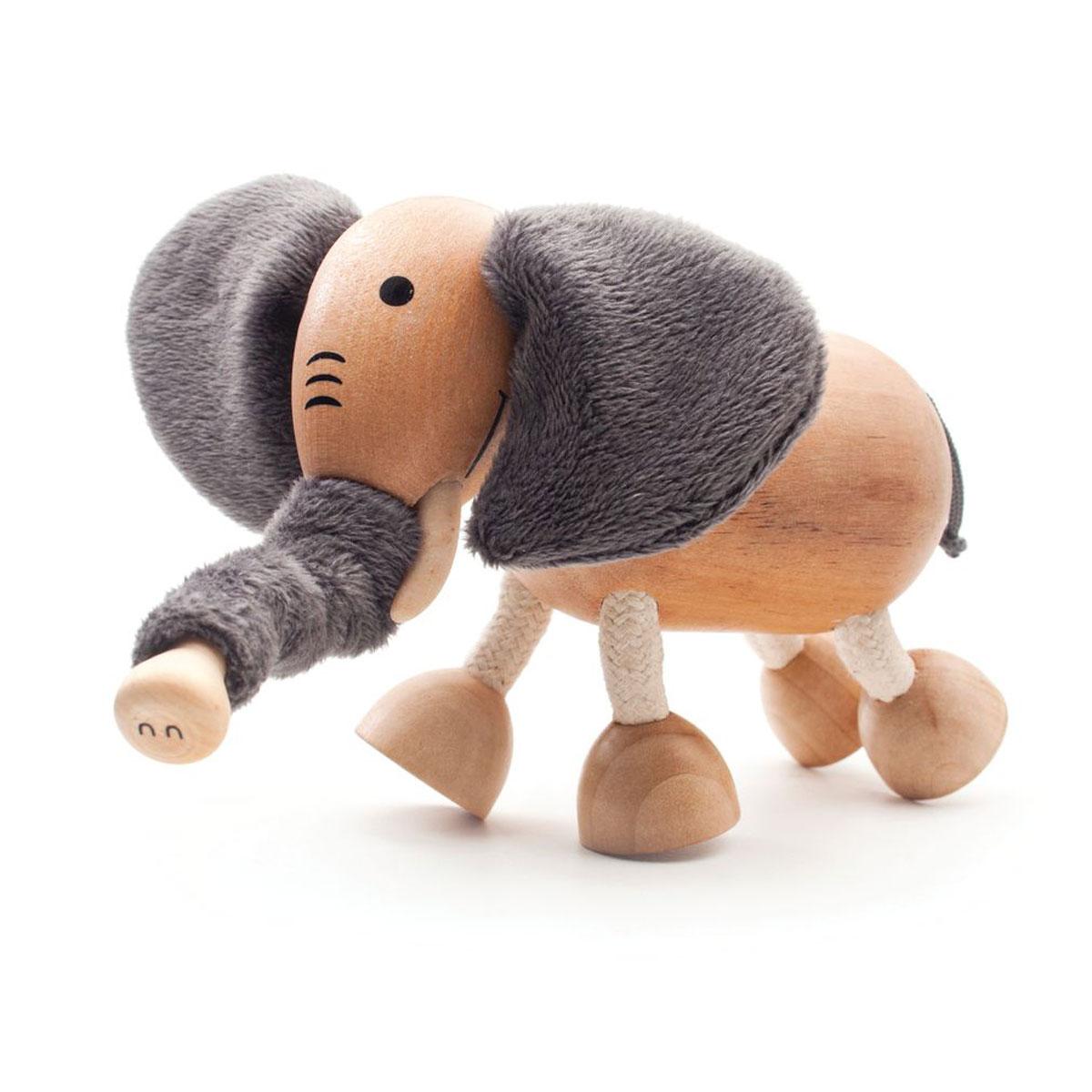 AnaMalz Фигурка деревянная Слоненок фигурки игрушки anamalz anamalz бурый мишка