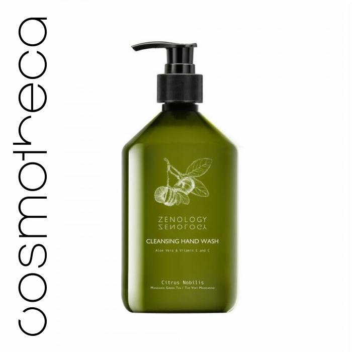 Zenology Жидкое мыло для рук Зеленый Чай 500 мл500MLMGTHWБлагодаря своей густой, сливочной пене, гель прекрасно освежает и мягко очищает руки. Входящая в состав натриевая соль РСА (природный увлажнитель, отлично питающий кожу) и экстракт алое вера способствуют поддержанию баланса PH-баланса и питают кожу. Насыщенный аромат зеленого чая дарит энергию и свежесть на целыи? день. Разработанная формула с витаминами Е и С глубоко питает кожу рук, придавая ей здоровый и сияющий цвет.