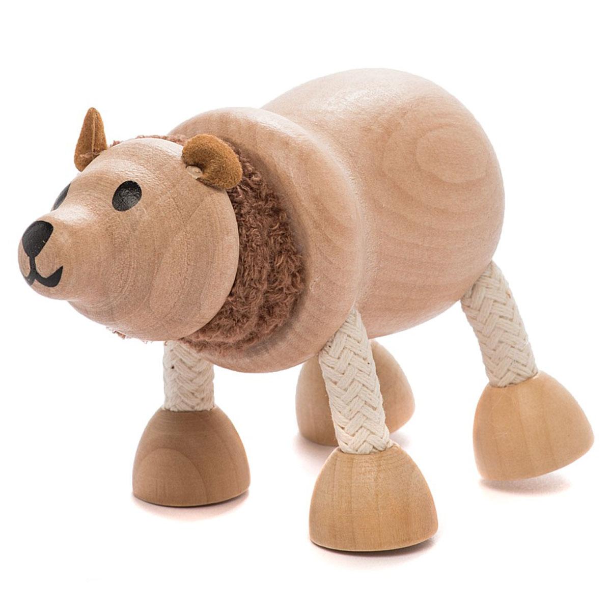 AnaMalz Фигурка деревянная Бурый мишка фигурки игрушки anamalz anamalz игровое поле