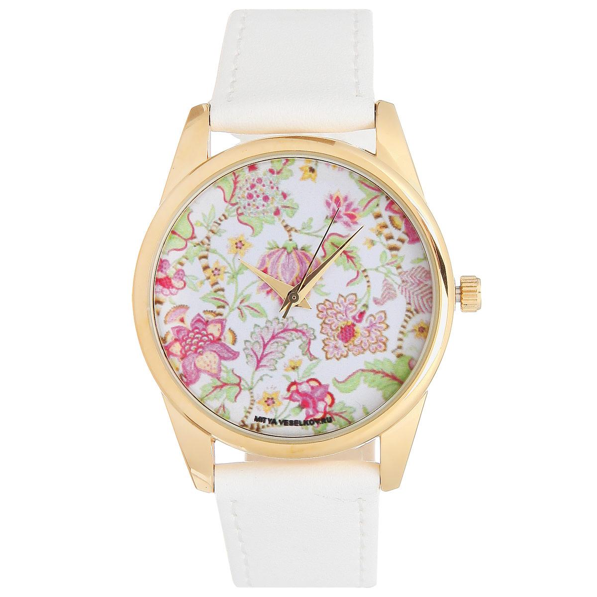 Часы Mitya Veselkov Розовые лотосы. Shine-37