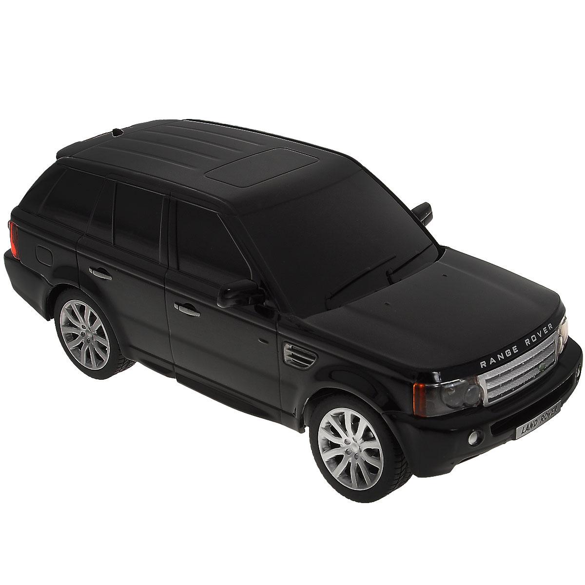 Rastar Радиоуправляемая модель Range Rover Sport цвет черный масштаб 1:24