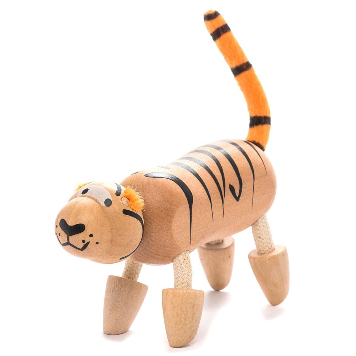AnaMalz Фигурка деревянная Тигренок фигурки игрушки anamalz касатик