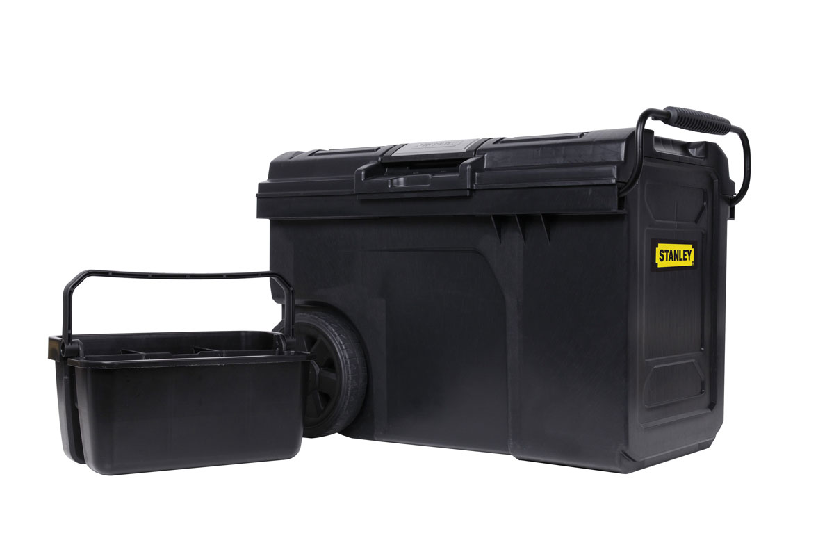 Ящик для инструментов с колесами Stanley Line Contractor Chest, 62 x 38 x 42 см карабинов вепрь 7 62 х 63 отзывы купить