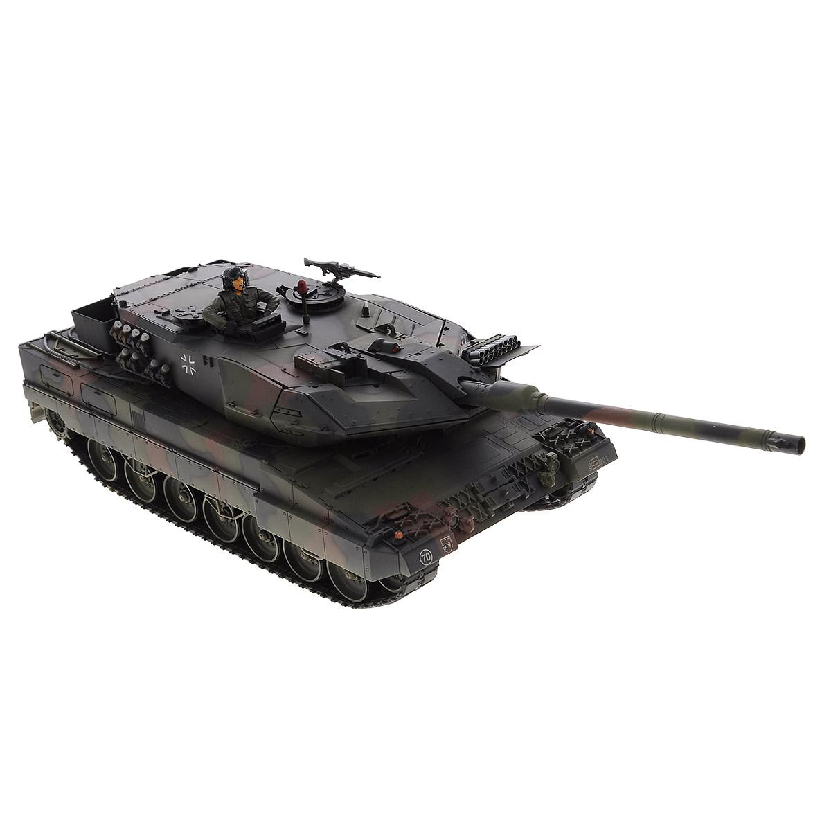 VSP Танк на радиоуправлении German Leopard2 A6 - Радиоуправляемые игрушки